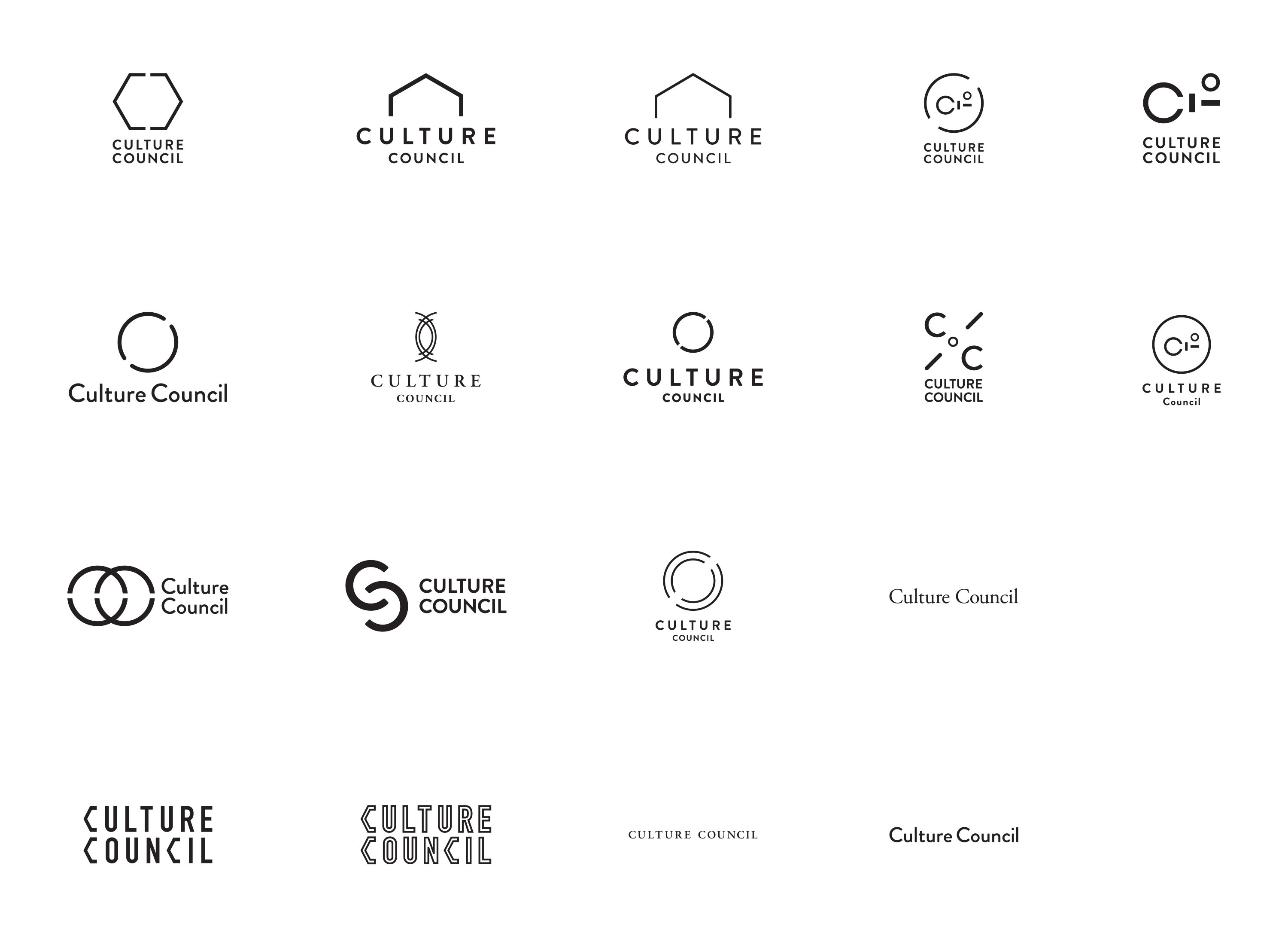 Culture Councli Logo Ideas Image