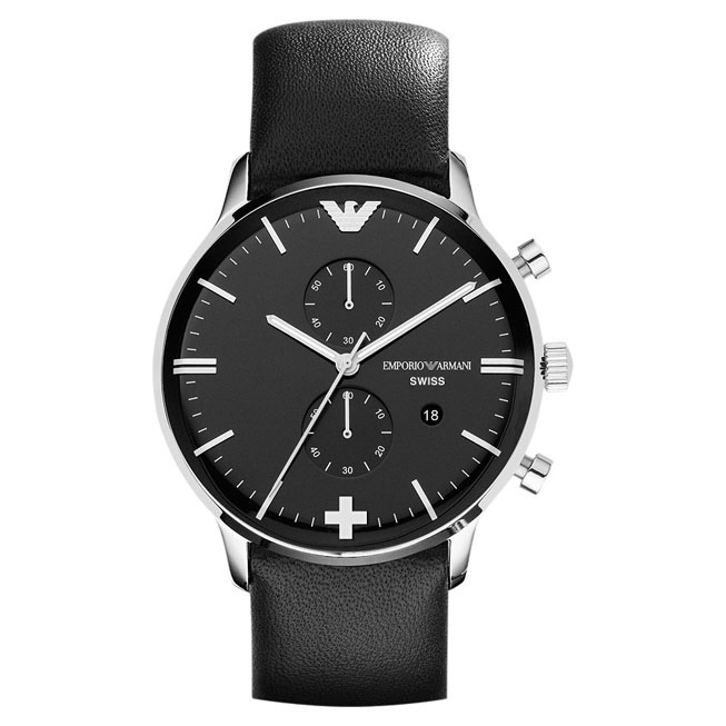 Watch Swiss Design Mockup Image