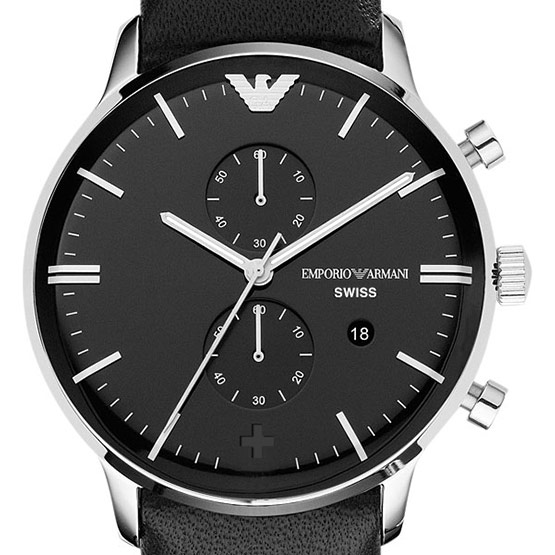 Emporio Armani Watch Design Mockup